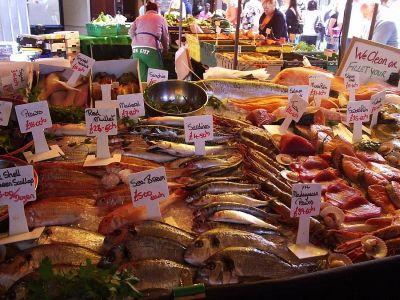 Ponuda ribe je uvijek impresivna