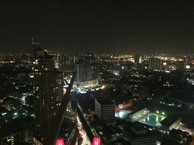 Spektakularni pogled na Bangkok sa sky bara