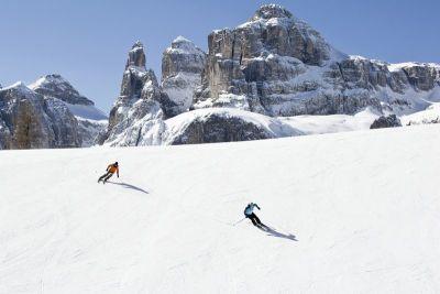 Alta Badia u idealnim zimskim uvjetima