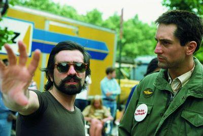 Martin Scorsese i Robert De Niro na snimanju Taksista